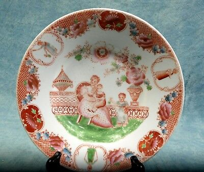 VERY EARLY ANTIQUE Cabinet Plate French or German