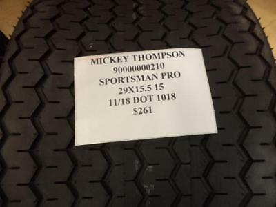 1 New Mickey Thompson Sportsman Pro 29 15.5 15 Drag Tire Wo Label 90000000210 Q8