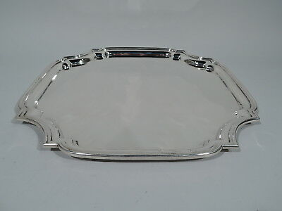 Tiffany Tray - 25146 - Classic Georgian Cartouche - American Sterling Silver