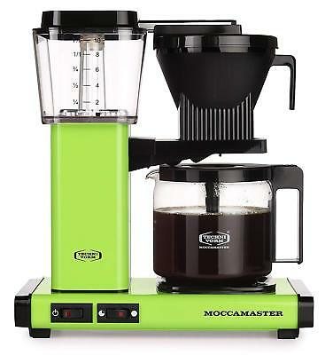 Moccamaster KBG 741 independent AO Coffee maker Maintains temperature entre 80