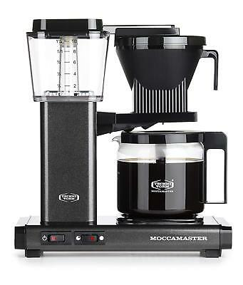 Moccamaster KBG 741 independent AO Completely automatic Coffee maker 1520 W Grey