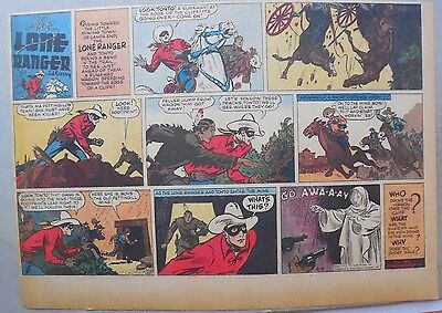 Lone Ranger Sunday Page by Fran Striker and Ed Kressy from 2/5/1939
