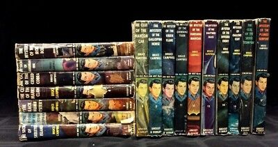 LOT of 17 Ken Holt Mystery Stories by Bruce Campbell, Tweed HB in DJ 1949-1962