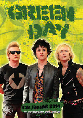 Calendrier Green Day 2018