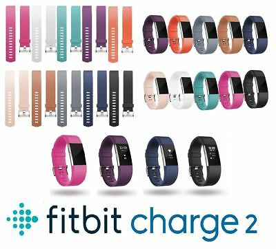 Fitbit Charge 2 Wrist Straps Wristbands Replacement Accessory Watch Bands