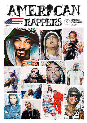 Calendrier American Rappers 2018
