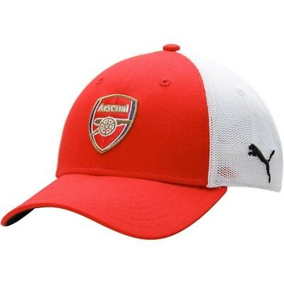 ARSENAL By PUMA Mesh Stretch Hat Arsenal Cap The Gunners Size L XL NEW TAG 9e060f980e8