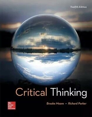 Critical Thinking 12th Edition By Moore Eb00k
