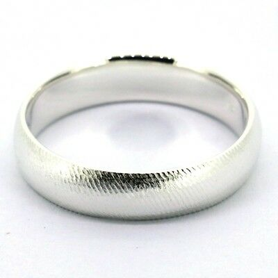 Tailor Made 6mm Classic Solid Sterling Silver Rope Ring UK Size H - Z4