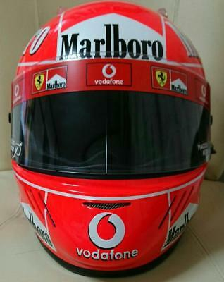 Michael Schumacher 2006 Motorcycle Helmet Replica Very Rare Collectible Fans F/s
