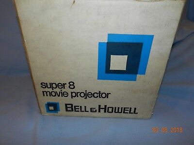 Vintage Bell And Howell Super 8 Mm Movie Projector 357A