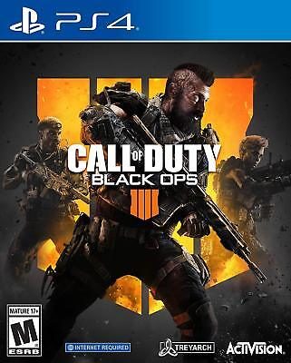 Call of Duty: Black Ops 4 (Sony PlayStation 4, 2018) PS4 Sealed