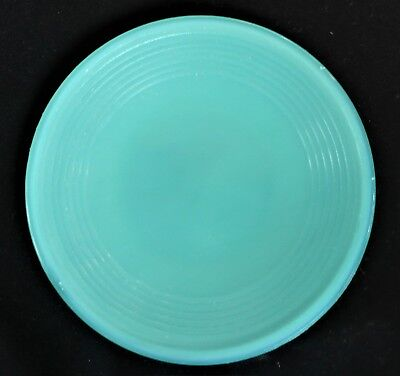 Akro Agate Small Concentric Ring/Stacked Disc Robin-Egg-Blue Plate(s)