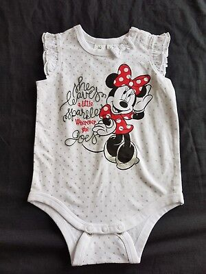 Girls new MINNIE MOUSE romper size 1