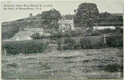 Postcards.craigford.king Edward Ii Watched The Battle Bannockburn From Here.rrp