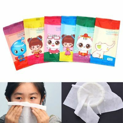 10Pcs/Set Disposable Restaurant Dining Non-Woven Fabric Wet Wipes Tissue Towel