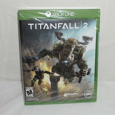 Titanfall 2 Xbox One Microsoft 2016 Brand New Factory Sealed NWT