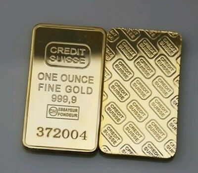 1 oz goldbarren One Ounce Finegold