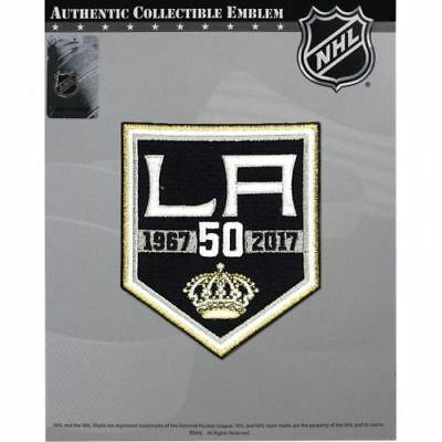 the best attitude 260f8 41f00 NHL LOS ANGELES KINGS 50th ANNIVERSARY PATCH 2016/17