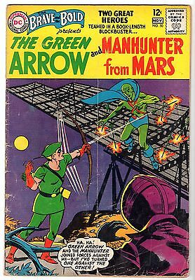 Brave and the Bold #50 - Green Arrow & Manhunter From Mars, Very Good Condition'
