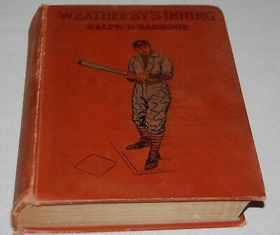 Vintage Ralph Henry Barbour Book Weatherbys Inning College Life Baseball 1903