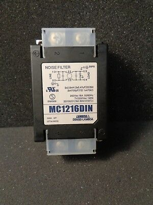 TDK Noise Filter MC1216DIN 250Vac 16A