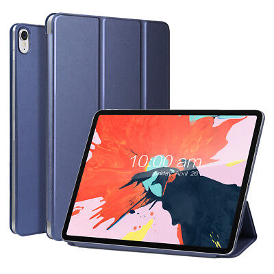 For New iPad Pro 11-Inch 2018 Slim Stand Magnetic Leather Folio Smart Case Cover