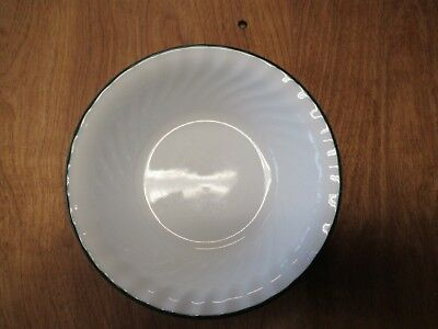 """Corelle HOLIDAY MAGIC CALLAWAY Green Soup Cereal Bowl 7"""" Swirl    7 available"""