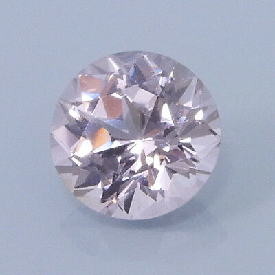 AMERICAN CUT .86 Ct. Natural Fancy Round Grayish Lavendar Pink Spinel