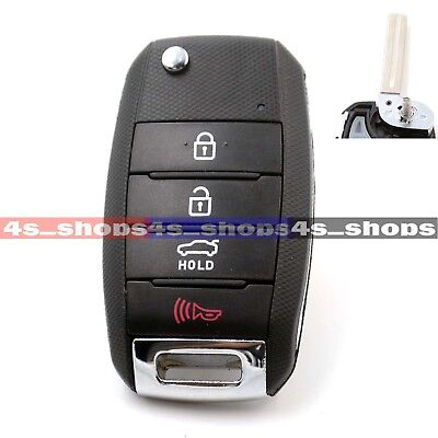 Replacement Flip Remote Key shell Fit For KIA CERATO K3 OPTIMA K5 FORTE CARENS