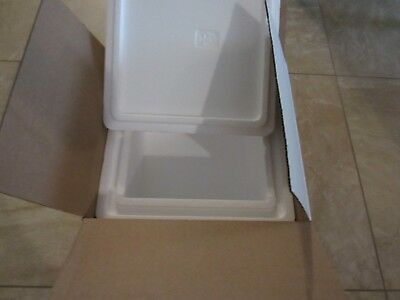 10 by 12.5 by 13.75 Inch Exterior Dimension Insulated Shipping Cooler