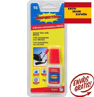 Adhesivo instantaneo PINCEL Super Glue 7 Grs. Supertite