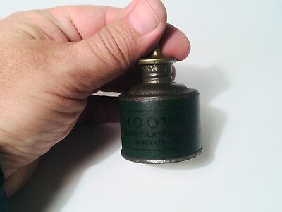 Vintage Hoover Vacuum Electric Cleaner Oil Can USA