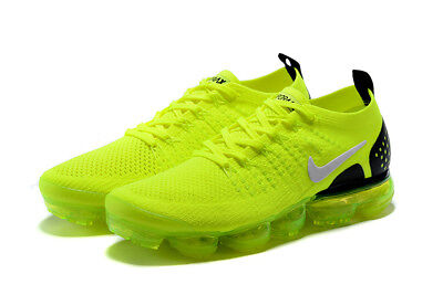 Nike Air Vapormax 2018 Flyknit 2.0 Men's - Running Shoes -- Shiny Green