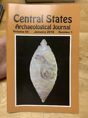 Central States Archaeological Journal -  2018 Dr Richard Michael Gramly Adressee