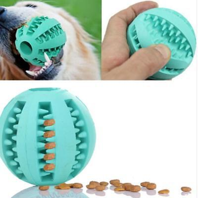 Dog/Cat Toy Treat Ball Interactive Dispenser Chew IQ for Teeth Clean 8C