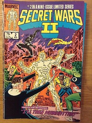 Secret Wars II issue 2 of 9 from august 1985 - discounted post