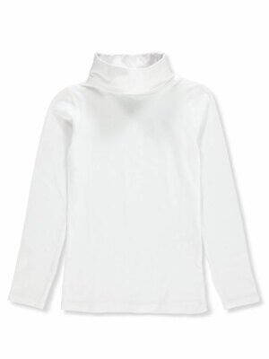 Qtee Girls' Turtleneck