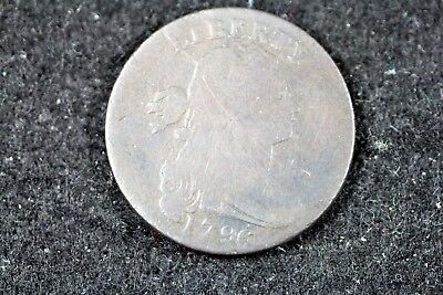 1796 - Draped Bust Large Cent!!  #H16534