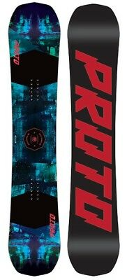 Never Summer Proto Type Two Rocker Camber Snowboard, X158cm Wide 2019