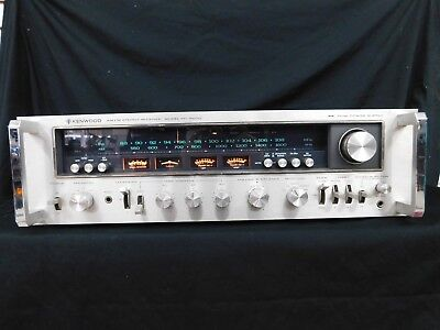 Kenwood KR-9600 Vintage Stereo Receiver VERY CLEAN FREE SHIPPING !!!