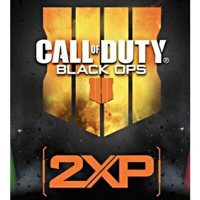 Call Of Duty Black Ops 4 Double XP 15 Minutes