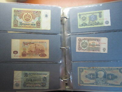 World notes in Album App 102 Huge Collection World Notes circulated BULK LOT