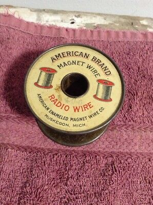 Vintage American Brand Magnet Wire Radio Wire NICE