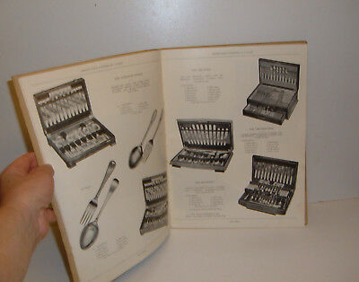 ** VINTAGE c1950s CATALOGUE CUTLERY CLOCKS TABLEWARE 60 PAGES + PRICE LIST **