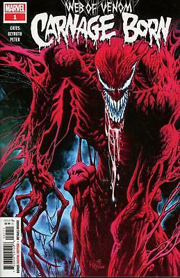 Web of Venom Carnage Born IN STOCK. DONNY CATES. NM FIRST PRINT COVER A