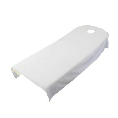 Toweling Couch Cover Massage SPA Table Bed Couches Sheets With Face Hole