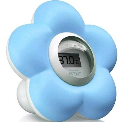 avent baby bath room thermometer. New blue sent tracked