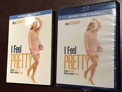 I Feel Pretty Blu Ray (Blu-ray, DvD, Digital HD iTunes 2018) Amy Schumer