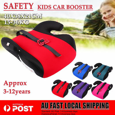 3-12Y Children Car Booster Seat Chair Cushion Pad Toddler Child Kids Sturdy